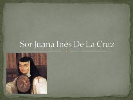 Sor Juana Inés De La Cruz andrea arrazquito