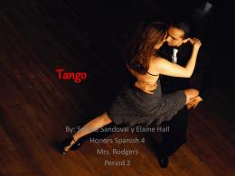 Tango - Rodgers - clases de Español