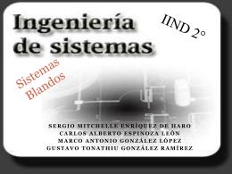 Sistemas Blandos