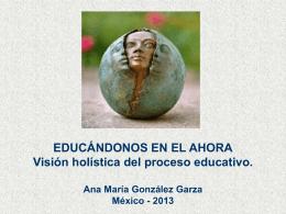 Educándonos en el ahora - Educación a Distancia