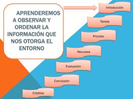 Extraer e interpretar información del entorno y