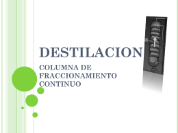DESTILACION - FCQ