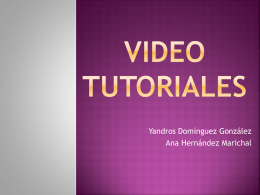 VIDEO TUTORIALES - ASIR-