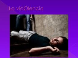 La vioOlencia - sexto-b2