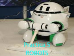 Practica 5 ROBOTS