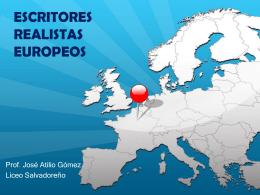 escritores realistas europeos