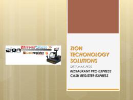 Presentación de PowerPoint - Zion Technology Solutions Zion