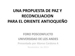 PROPUESTA DE PROVINCIA - Cider