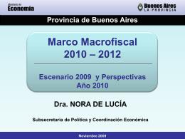 Charla Dra. Nora De Lucía - Ministerio de Economía de la Provincia