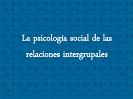 2. relaciones intergrupales (Vanessa Smith)