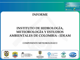 METEOOROLOGIA IDEAM 2014_ERFEN
