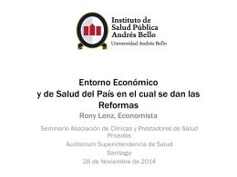 Charla Lenz Asoc Clinicas nov 2014 - Instituto de Salud Publica de