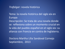 trafalgar, novela histórica
