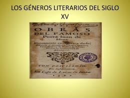 Literatura del siglo VX.TEMA 14