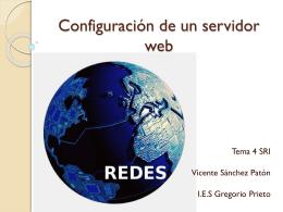 configuracion de un servidor web