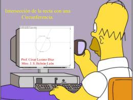 Recta y circunferencia
