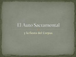 Lugares de representación - spanish-golden-age