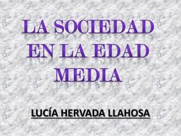 TRABAJO DE SOCIALES LA SOCIEDAD EN LA EDAD MEDIA