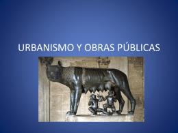 URBANISMO Y OBRAS PÚBLICAS