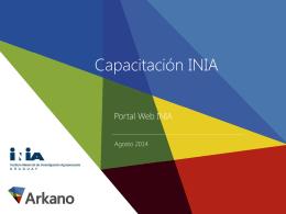 Capacitacion Secretarias INIA draft