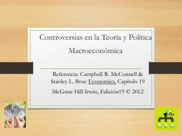 Controverias en la teoría y política macroeconómica(Econ3022