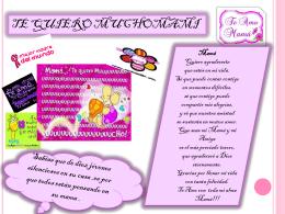 tarjeta para el día de las madres