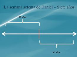 linea de tiempo semana 70 - Iglesia Cristiana La Serena