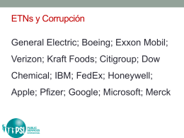 Español: ETNs y corrupción (PPT)