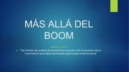 Más allá del Boom: literatura y mercado. Buenos Aires