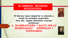 Barroco. Figuras Literarias.