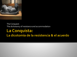 La Conquista - PartnersinEducation