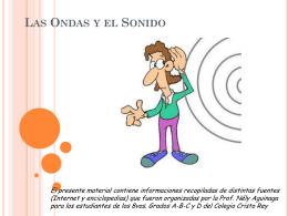 Las Ondas y el sonido