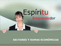 sectores y ramas económicas