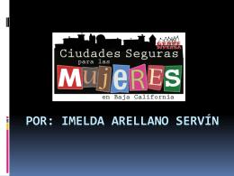011 - Ciudades Seguras para las Mujeres