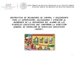 Administración Federal de Servicios Educativos en el