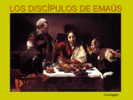 CAMINO DE EMAÚS (Lc 24,13-35)