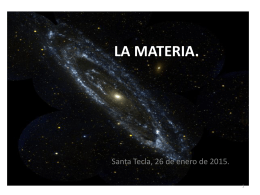 LA MATERIA. - WordPress.com