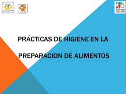 buenas prácticas de higiene - Ventanilla Única de Transparencia