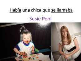 Asistió - Susanne Pohl