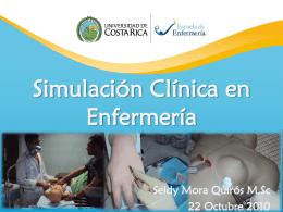 Simulación Clínica como Metodología de la Enseñanza Modelo