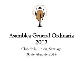 Asamblea abril 2014