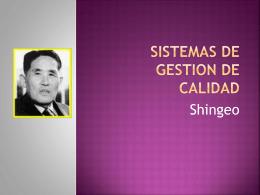 shingeo_shingo - Sistemasdegestiondecalidad