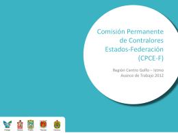 Presentación de PowerPoint - Región Centro-Golfo