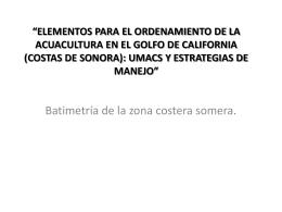 Batimetría