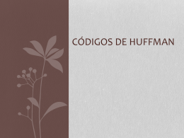 Códigos de Huffman