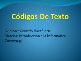 Códigos De Texto dber expo