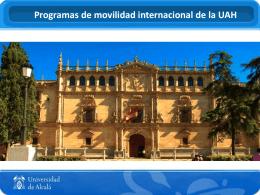 Presentación Erasmus 2015/16 (PPT)