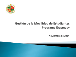 Preguntas Frecuentes – Movilidad saliente - Jaén