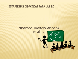 ESTRATEGIAS DIDACTICAS PARA LAS TIC - las-tic-primaria