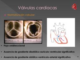 Válvulas cardíacas